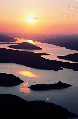 Greers Ferry Lake, Arkansas. One of 68 gorgeous lakes in our state.