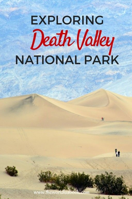 Mesquite Flat Sand Dunes inside Death Valley National Park with kids - California with kids