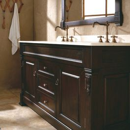 bathroom+remodel+double+sink | ... double bath vanity brings out the old world class to your bathroom