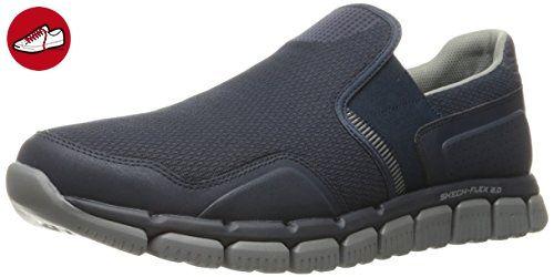 Skechers Herren Slipper Skech-Flex 2.0 WENTLAND Blau, Schuhgröße:EUR 47.5 - Skechers schuhe (*Partner-Link)
