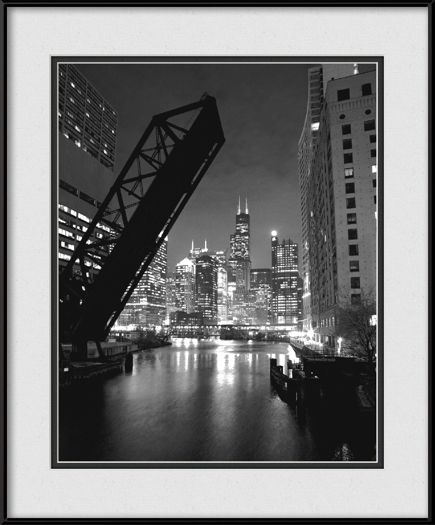 Welcome To Chicago - Kinzie Street Bridge Opening | View more @ HorschGallery.com