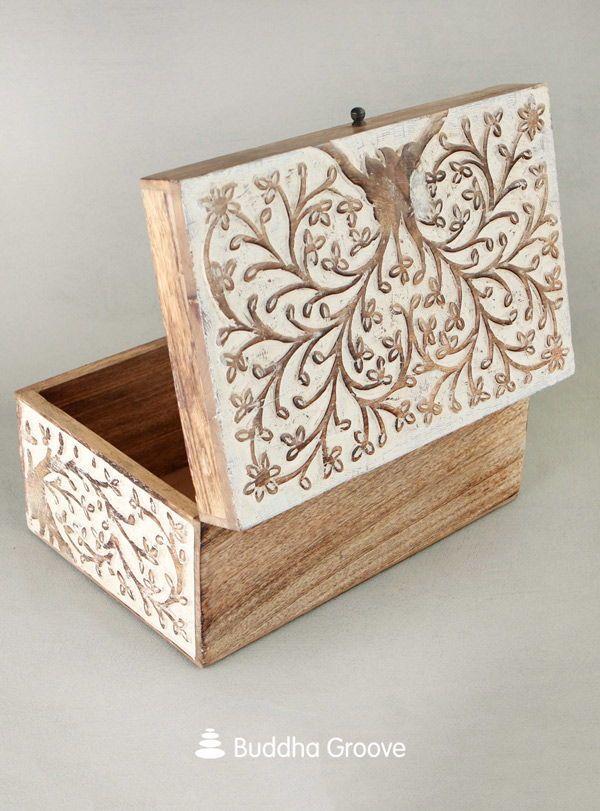 Tree Of Life Rustic Handmade Boxes Handmade Box Tree Of Life Crafts Antique Inspiration