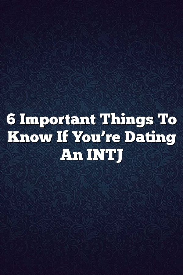 intj and intp dating