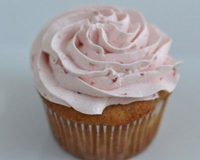 """""""Amazingly Good Strawberry Icing"""". I have made this and it is delicious!"""