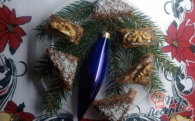 Vánoční brownies