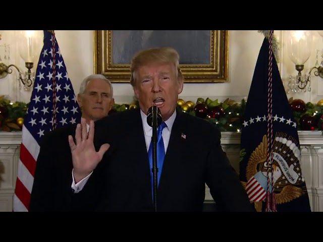 """The Daily"" responds to Trump's statement on Jerusalem"