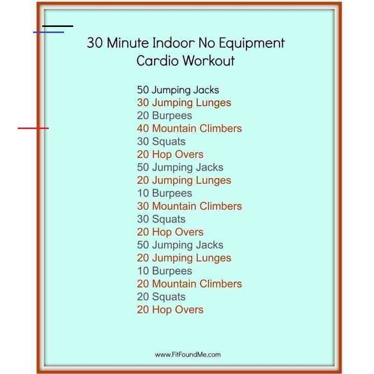 Beginner Workout At Home No Equipment Equipment Fitness Home Women Workout In 2020 Cardio Workout At Home 30 Minute Cardio Workout Cardio Workout