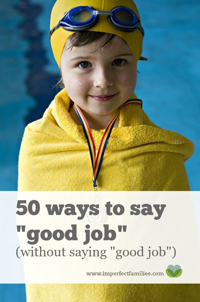 "Learn how to encourage your kids without saying a generic ""good job."" Here are 50 ways to say ""good job"" without saying ""good job"" (plus a free printable!)"
