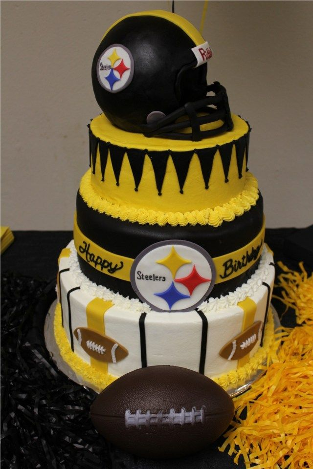 25 Excellent Photo Of Steelers Birthday Cake Steelers Birthday