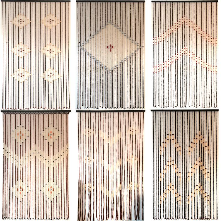TOP QUALITY BAMBOO BEADED DOOR CURTAINS BLINDS FLY INSECTS DOOR CURTAIN WOODEN #FunkyBuys