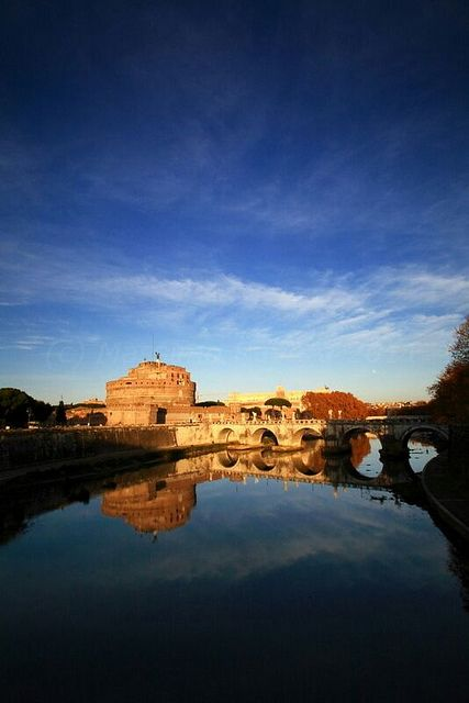 Castel Sant'Angelo. by MaranzaMax, via Flickr