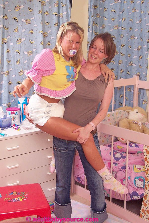 Diaper fetish adult baby happened her