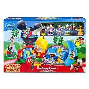 79 99 Disney Exclusive Mickey Mouse Clubhouse Playset