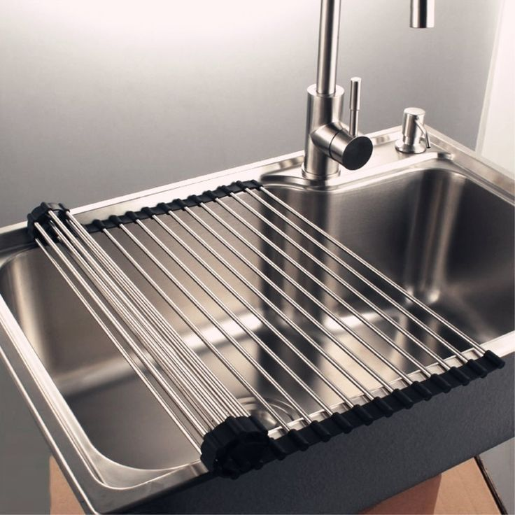 17 best ideas about dish drying racks on pinterest space saving kitchen kitchen storage and - Kitchen sink drying rack ...