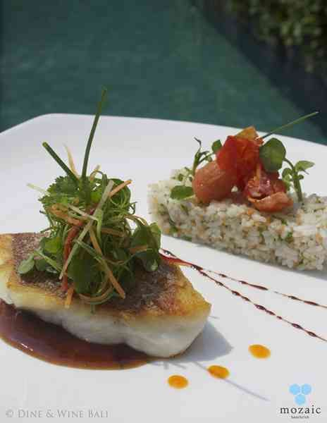Red Snapper Fillet © Mozaic Beachclub