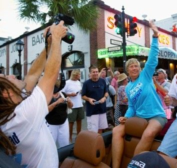 Endurance swimmer, 64-year-old Diane Nyad is the grand marshal of the 2013 Captain Morgan Fantasy Fest Parade set for Oct 26.