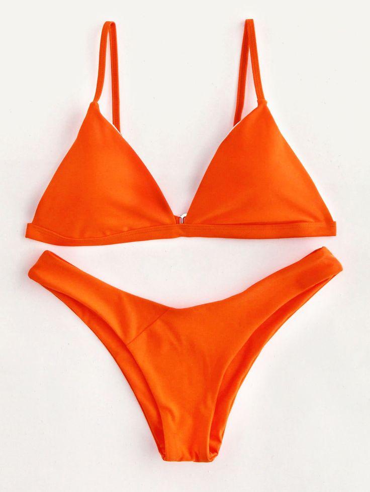 Shop High Leg Triangle Bikini Set online. SheIn offers High Leg Triangle Bikini Set & more to fit your fashionable needs.