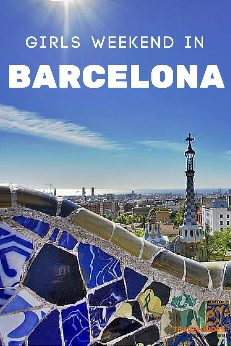 Ideas and Tips for a Girls Weekend in Barcelona - With its endless list of exciting things to do and see, it's the ultimate destination for any group of ladies looking for some R&R, shopping and vibrant nightlife  // Traveldudes Social Travel Community:
