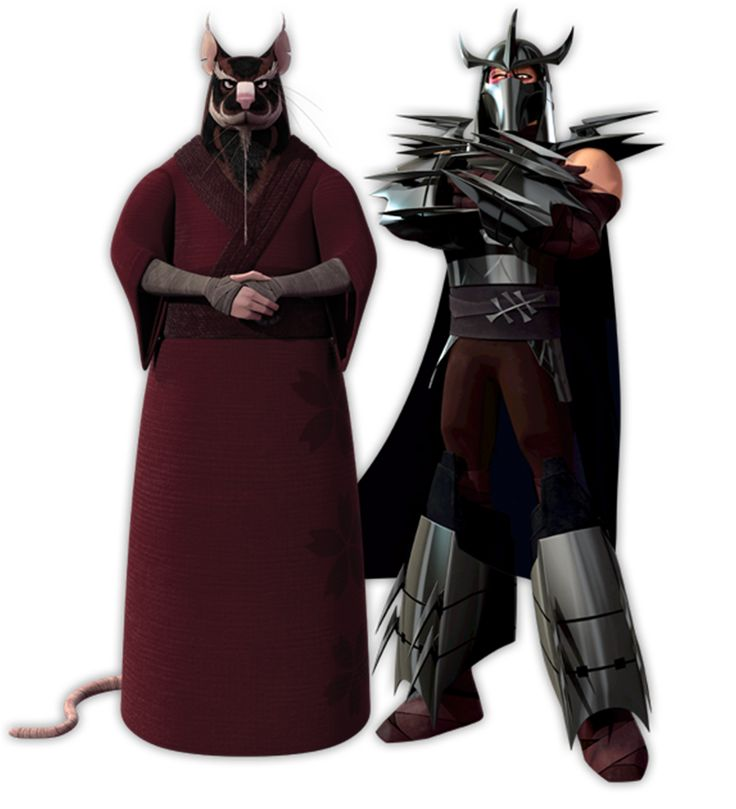 Who will win the battle? Master Splinter vs Master ...