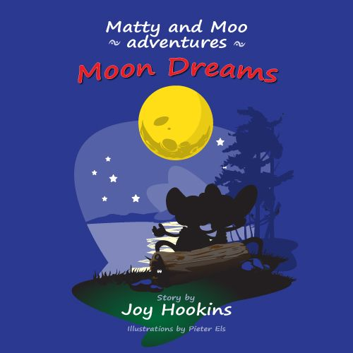 Matty and Moo Friendship Adventures - Moon Dreams  PDF Format.  The Matty and Moo series is suitable for parents at home and teachers in the classroom.   The main aim is to stimulate and stretch the imagination of the child. They will enjoy the fun element of creating their own ideas.   There are three extra activities for you to share with your children. These are popular and great fun to do.  For children: Pre-K - K  This is the first book in the Matty and Moo Adventures.