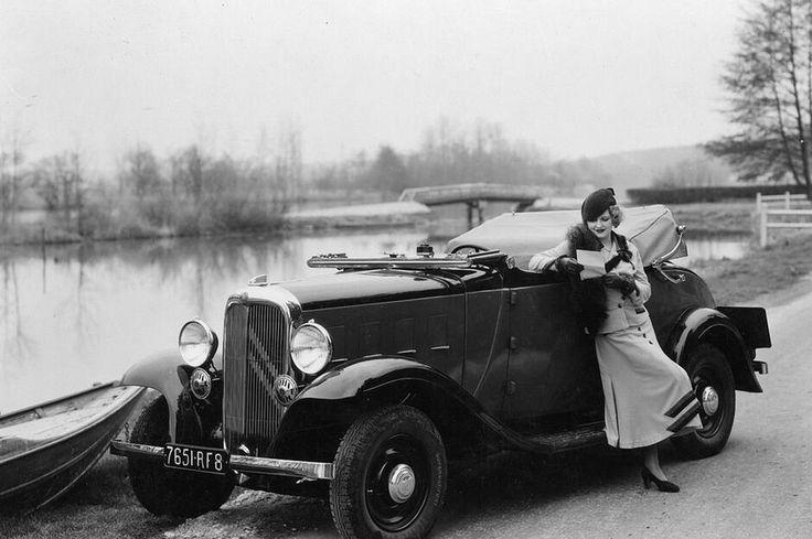 1932 Citroën 8CV Gebrauchtwagen, Autos, Bilder