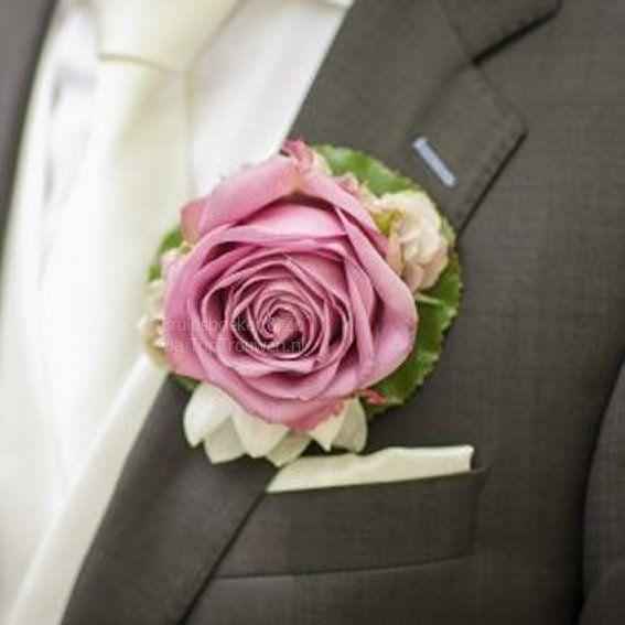 Roze corsages
