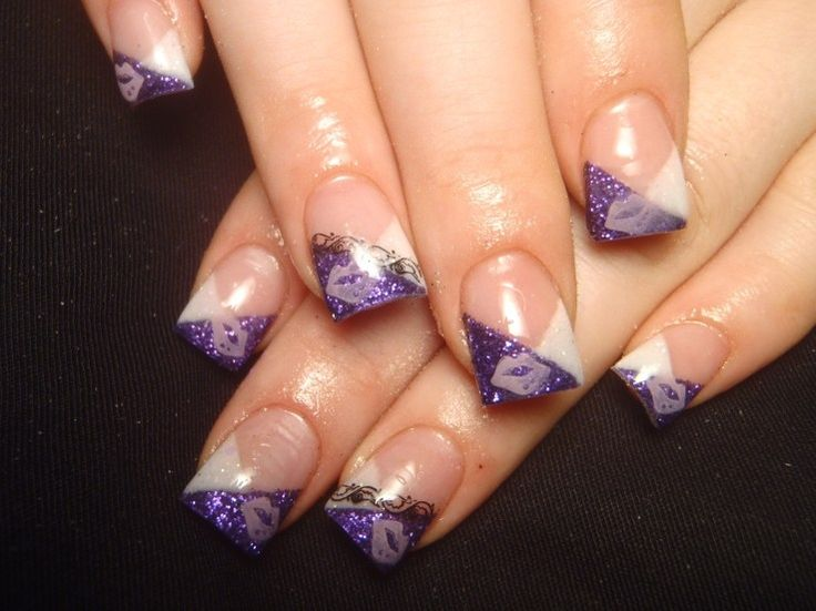 nails+designs+2011+french | Colorful French Nail Art Designs 2011 | Makeup Tips and Fashion
