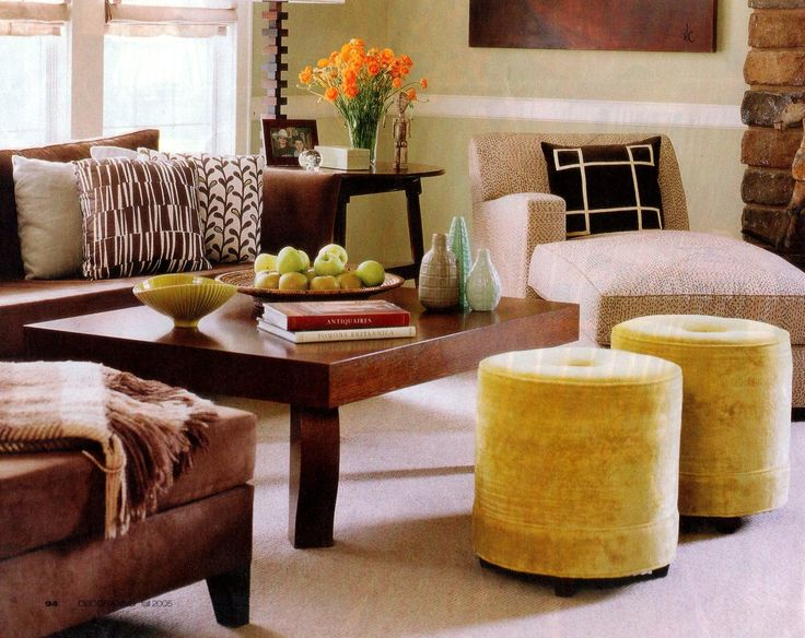 Mustard Yellow And Brown Living Room 2017 2018 Best Cars Reviews