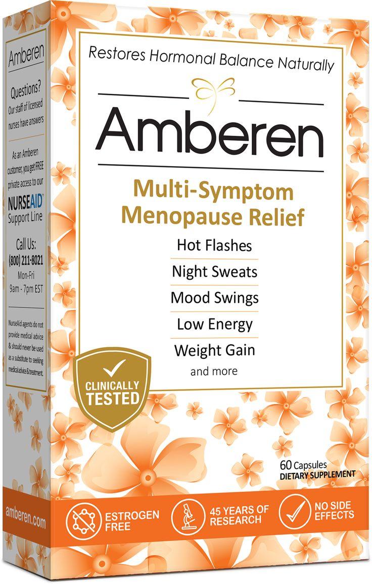 Get $10 Walmart coupon for Amberen Menopause Relief