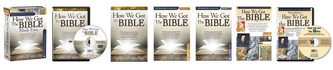 Easily answer popular questions about the Bible's reliability and history with this ready-to-use, all-inclusive How We Got the Bible DVD Study! In this exciting 6-session DVD study, Dr. Timothy Paul Jones answers tough questions about the Bible's reliability in an easy-to-understand way as he guides you through the basic history of the Bible. Dive into the the fascinating stories of Tyndale, Wycliffe, King James, Dead Sea Scrolls, and more! www.howwegotthebibledvd.com