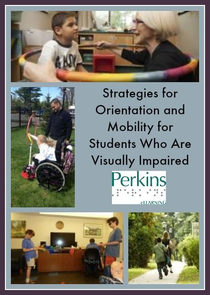 Activities to teach Orientation and Mobility to children who are blind or visually impaired