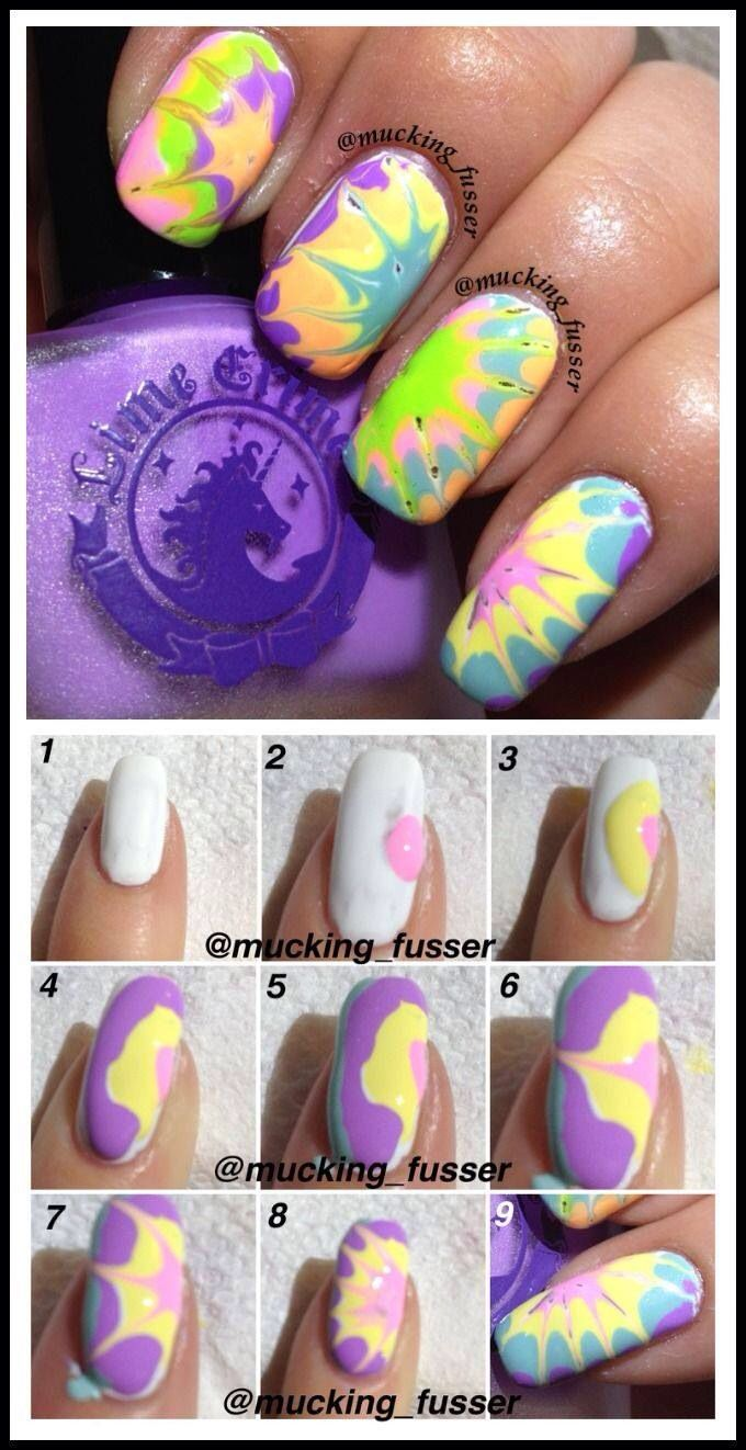 Lorde inspired nail tutorial - Nail Art Tutorials Step By Step For Beginners Learners 2013 2014 4 Nail Art Tutorials Step By Step For Beginners Learners 2014