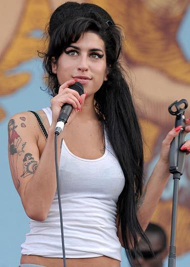 Memories ... star Amy Winehouse had a string of hits
