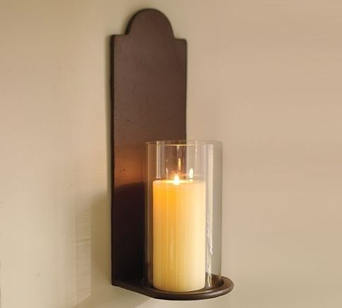 Hurricane Wall Sconces For Candles - Foter