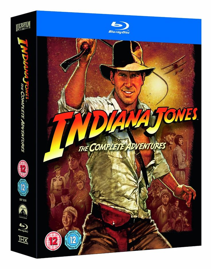 BARGAIN 'Deal of the Day' Indiana Jones The Complete Adventures Blu Ray Boxset £22.99 delivered at Amazon CHEAPEST EVER PRICE - Gratisfaction UK