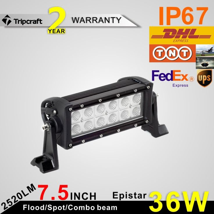 79.46$  Buy here - http://aiuhu.worlditems.win/all/product.php?id=32738823218 - Tripcraft Promote 7.5 INCH Epistars 36W LED LIGHT BAR FOR OFF ROAD LIGHT BAR FLOOD SPOT BEAM LED DRIVING LIGHT LED BAR LIGH