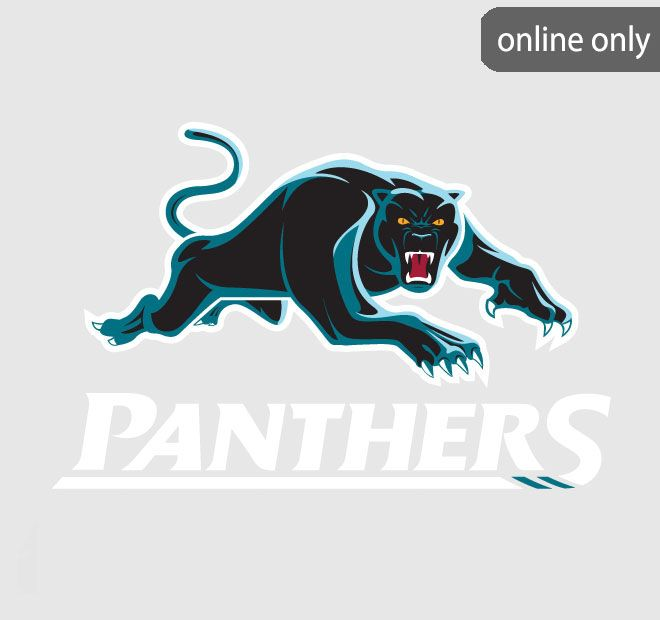 NRL Team Logo Quilt Cover Set and Accessories Range Penrith Panthers