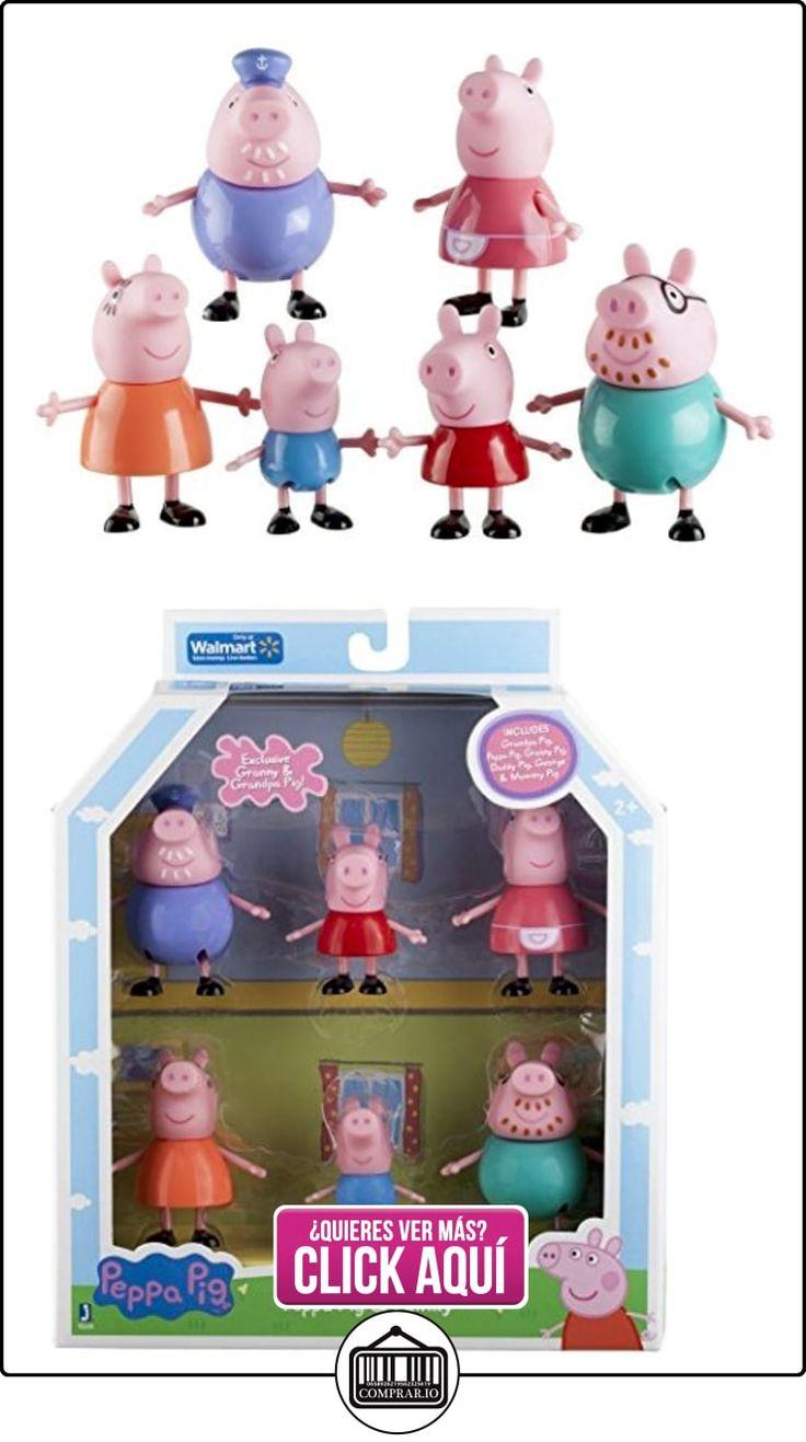 Peppa Pig and Family Figure Grandpa Granny Exclusive Set of 6 by Peppa Pig  ✿ Peppa Pig - Peppa La Cerdita ✿ ▬► Ver oferta: http://comprar.io/goto/B013F3NAPK