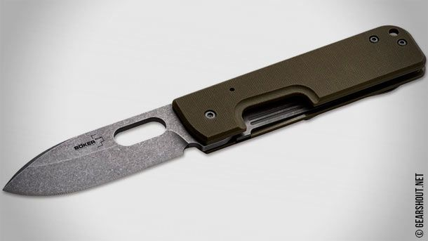 Böker Plus Lancer - новый повседневный нож выполненный по дизайну Сергея Панченко (Serge Panchenko)