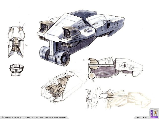 Star Wars: Galactic Battlegrounds (Concept Art) | The International House of Mojo