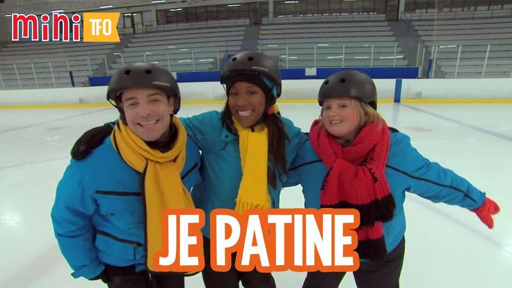 JE PATINE - Louis, Josée et Lexie s'amusent à chanter la chanson Je patine. Il y a même les paroles de la chanson juste en-dessous la vidéo ;)