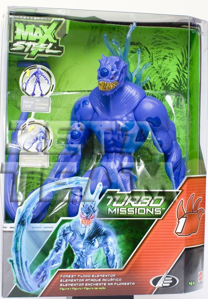 max steel elementor | Max Steel Turbo Missions Elementor Ataque Acuatico