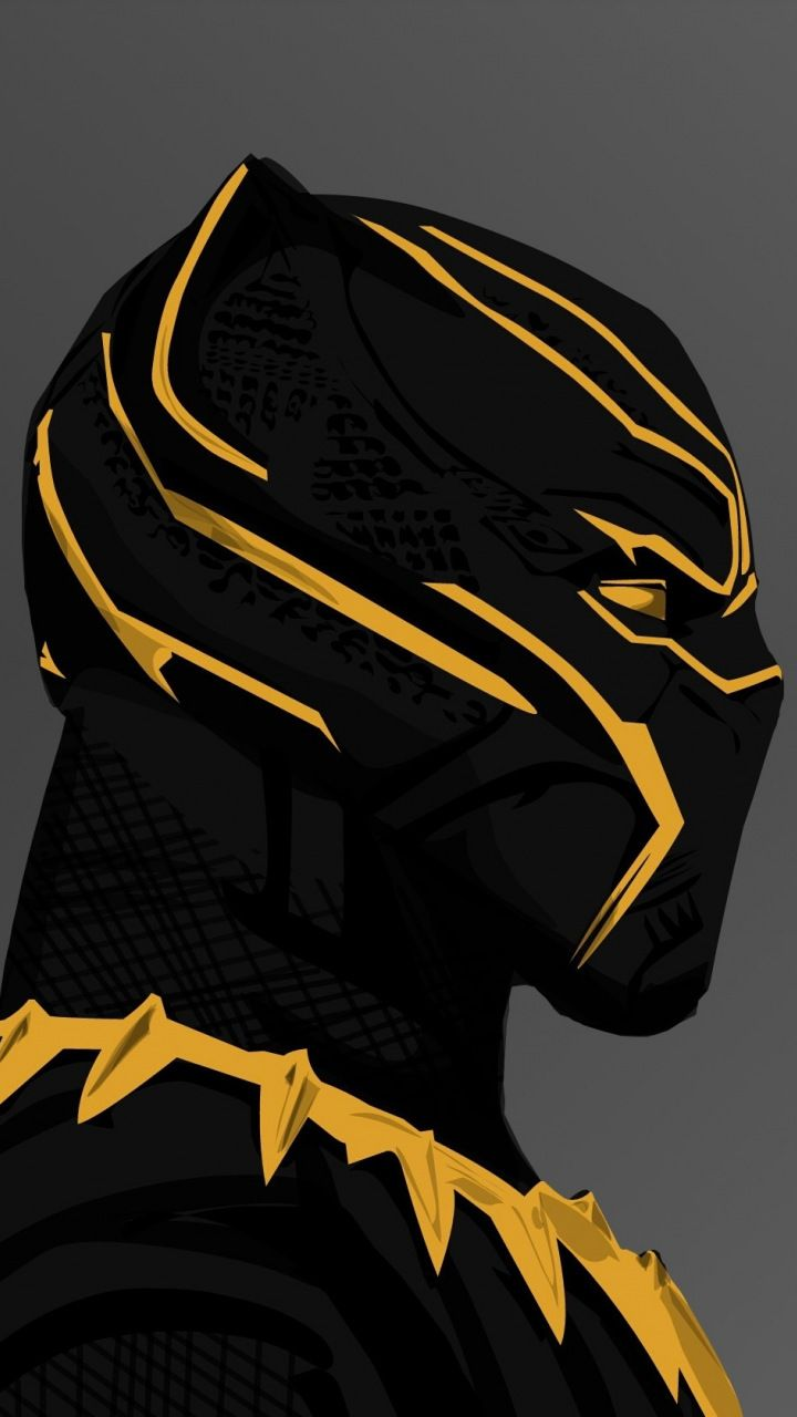 Black Panther 2018 Movie Erik Killmonger S Golden Suit 720x1280 Wallpaper Black Panther Hd Wallpaper Black Panther Images Black Panther