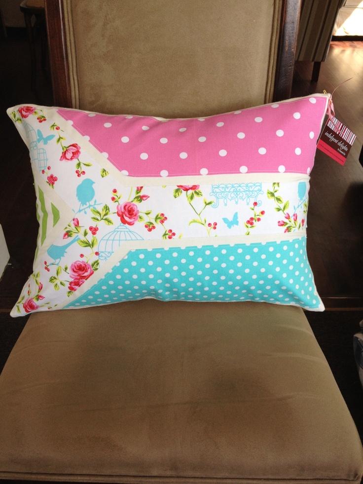 Bright & Pretty SA flag cushion