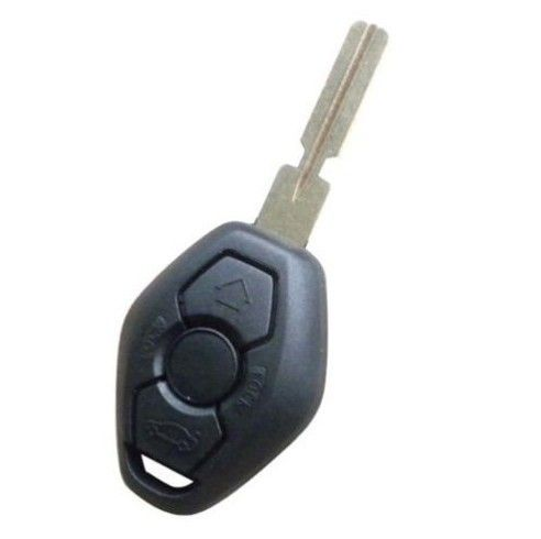 Удаленный Случае Ключ Fob 3 BTN 4 Дорожки для БМ-W 3 5 7 СЕРИИ Z3 Z4 X3 X5 M5 325i E38 E39 E46 Оболочки HU58 (оборотная сторона Слова 315 МГЦ)