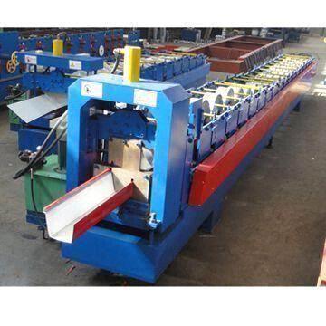 Gutters Manufacturing Machine Machine Gutter Colors Aluminum Roof Folding Machine