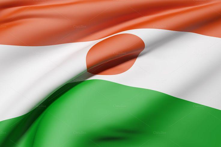 Niger flag by De todo un poco on @creativemarket