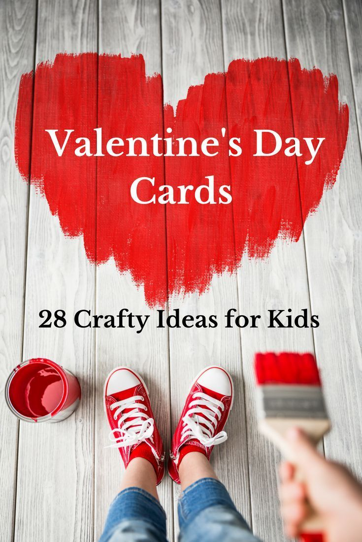 If you're looking for ideas for your kid's Valentine's Day cards for school you're in luck! Whether you're looking for creative no candy Valentines for the classroom exchange, or fun DIY Valentines you can do with your kids, there's something for you on this list of 28 Crafty Kid's Valentine's Day Cards For School. From preschool to toddlers and tweens, there's something for every age on this list of kid's Valentine's Day card ideas.