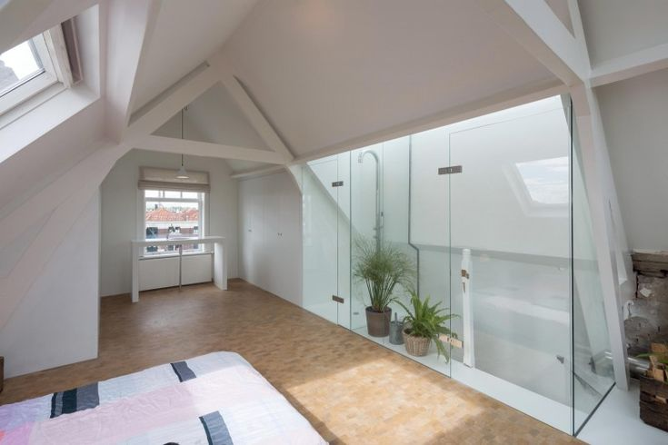 Appartement delfshaven zolder met douche in dakkapel dakkapel vliering inspiratie - Open douche ruimte ...