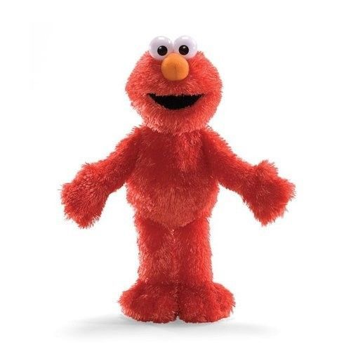 "Sesame Street Elmo Doll 12"" Plush Toy Soft Huggable Stuffed Ragdoll Toy New #GUND"